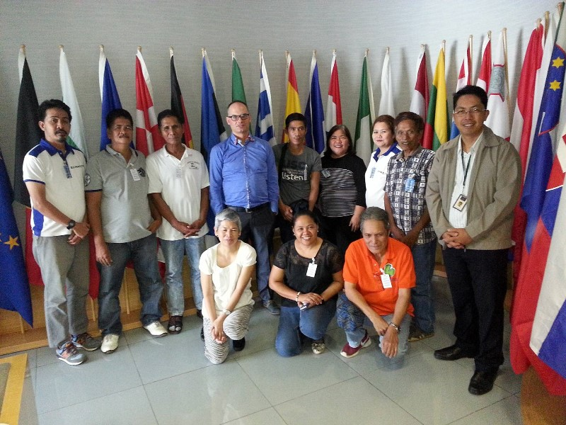 MAG and support groups paid courtesy call on the EU Delegation to the Philippines