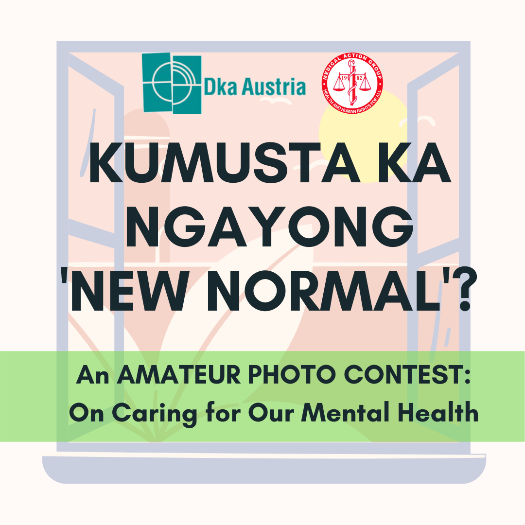 October as Mental Health Month, MAG launches Mental Health Photo Contest