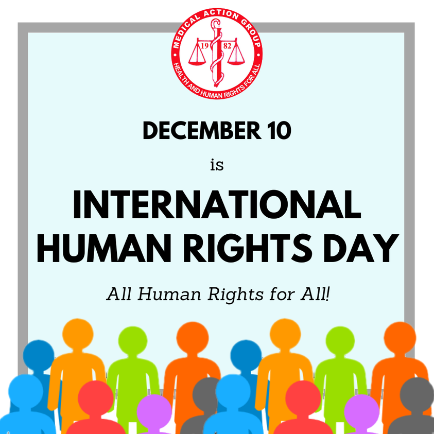 DECEMBER 10 IS INTERNATIONAL HUMAN RIGHTS DAY