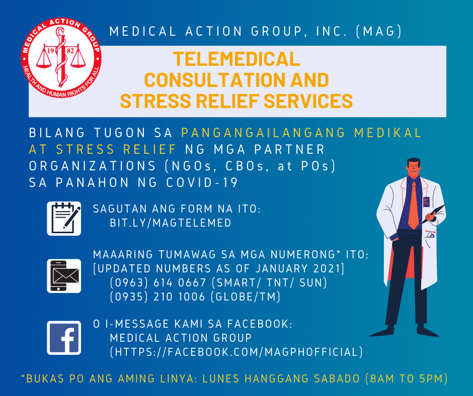 Telemedical Consultation and Relief Services for Partner Networks during the COVID-19 Pandemic