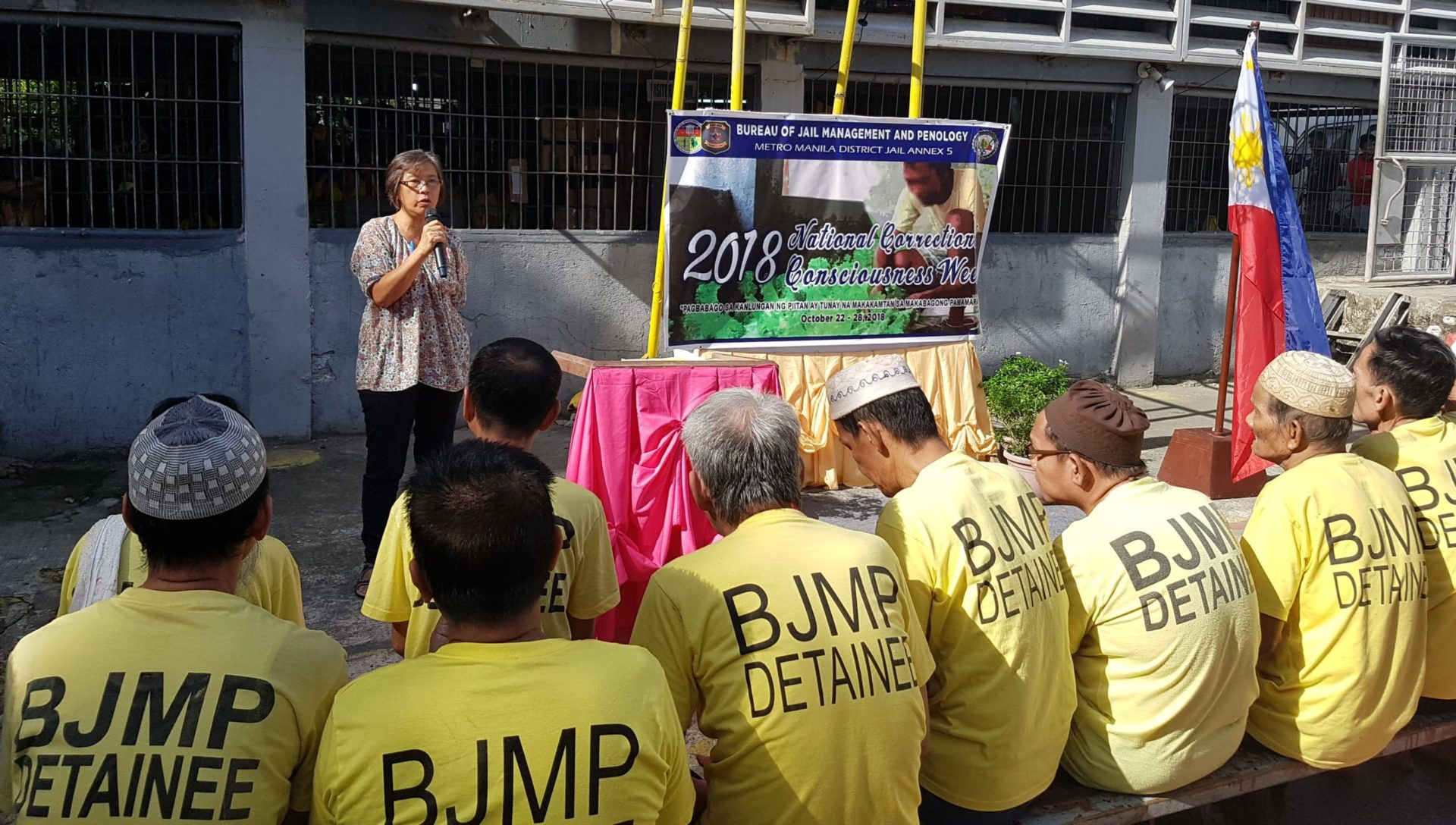 MAG conducts Medical and Dental Mission for PDLs during the National Correctional Consciousness Week (NACOCOW) 2018