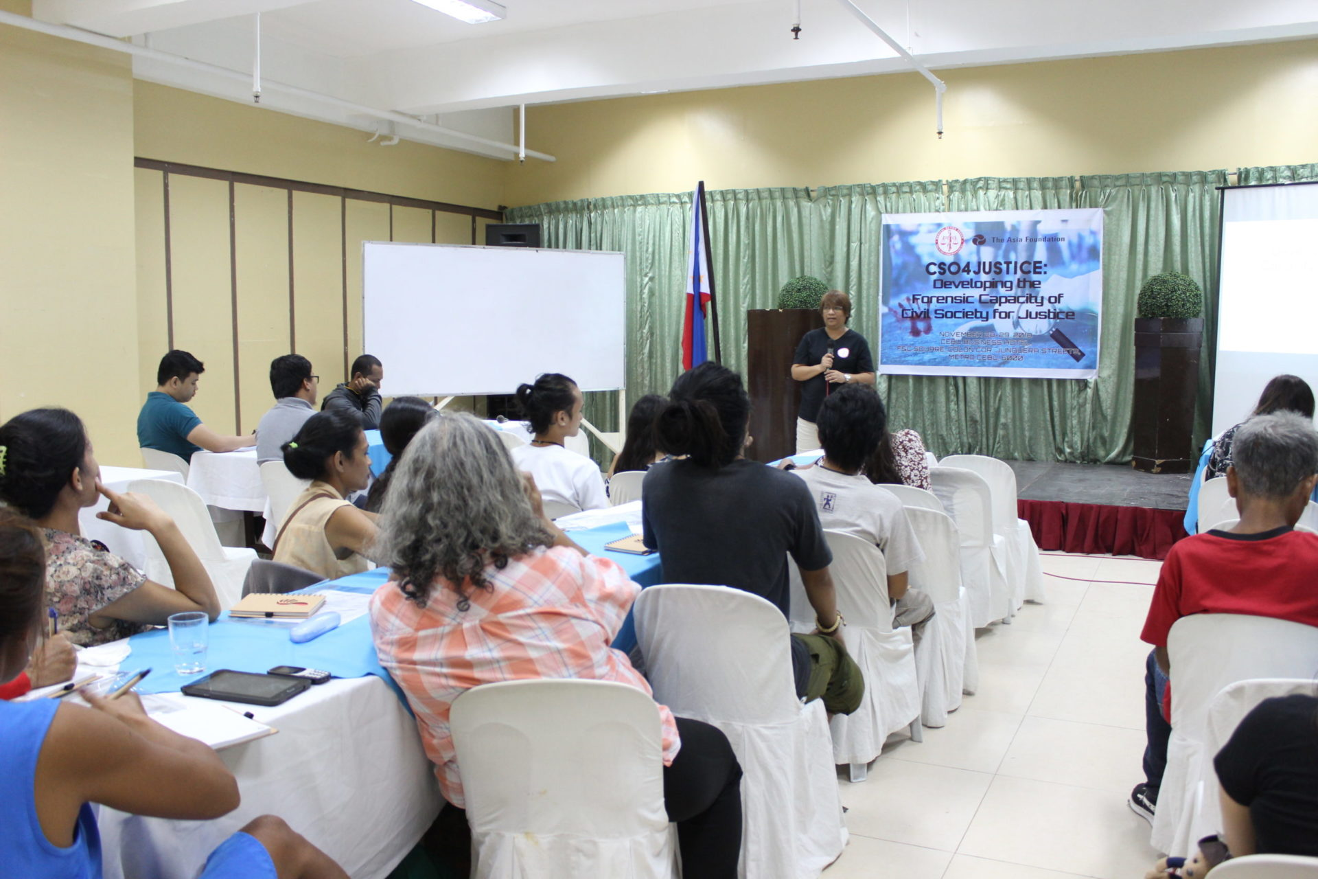 DEVELOPING THE FORENSIC CAPACITY OF CIVIL SOCIETY FOR JUSTICE