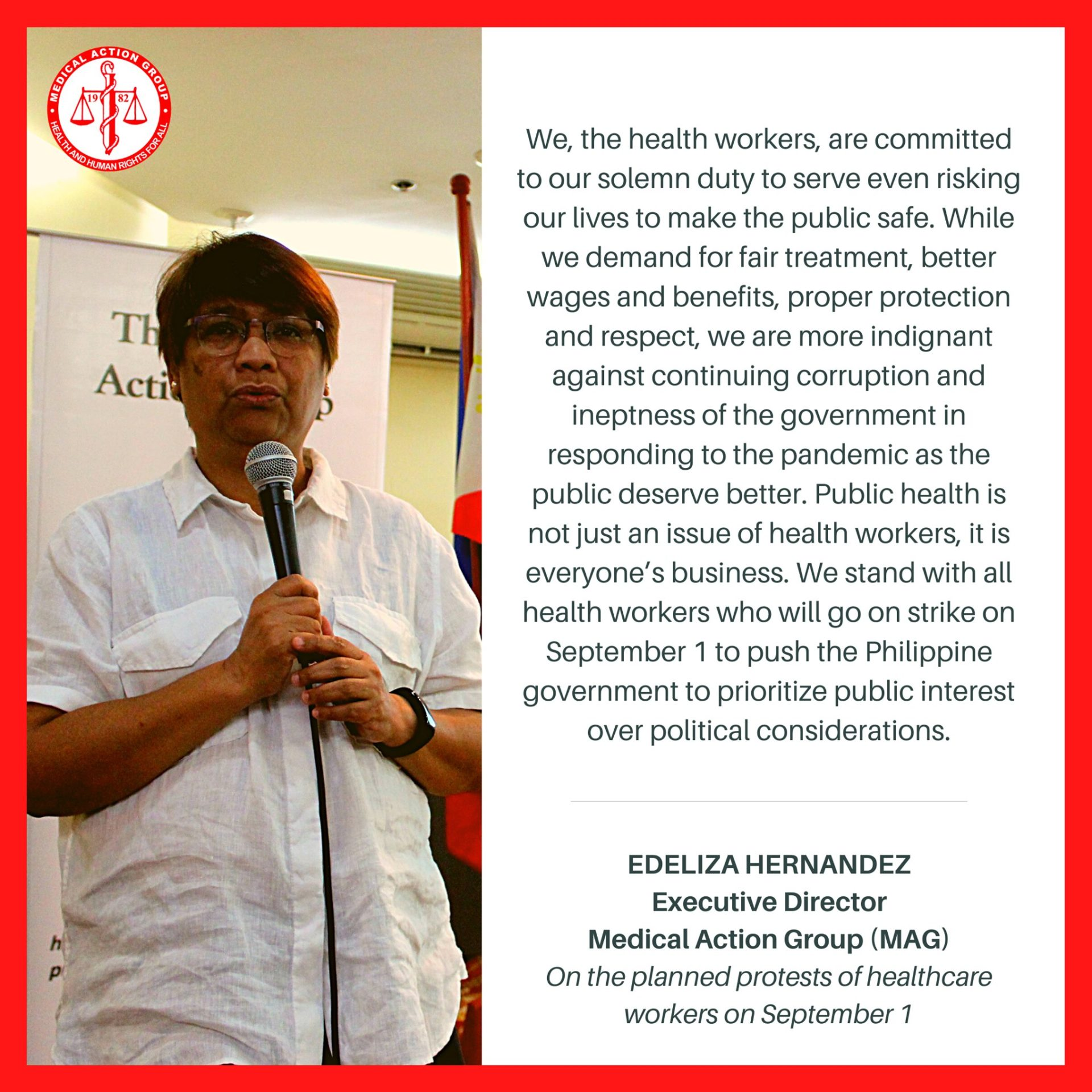 'PUBLIC HEALTH IS NOT JUST AN ISSUE OF HEALTH WORKERS, IT IS EVERYONE'S BUSINESS'