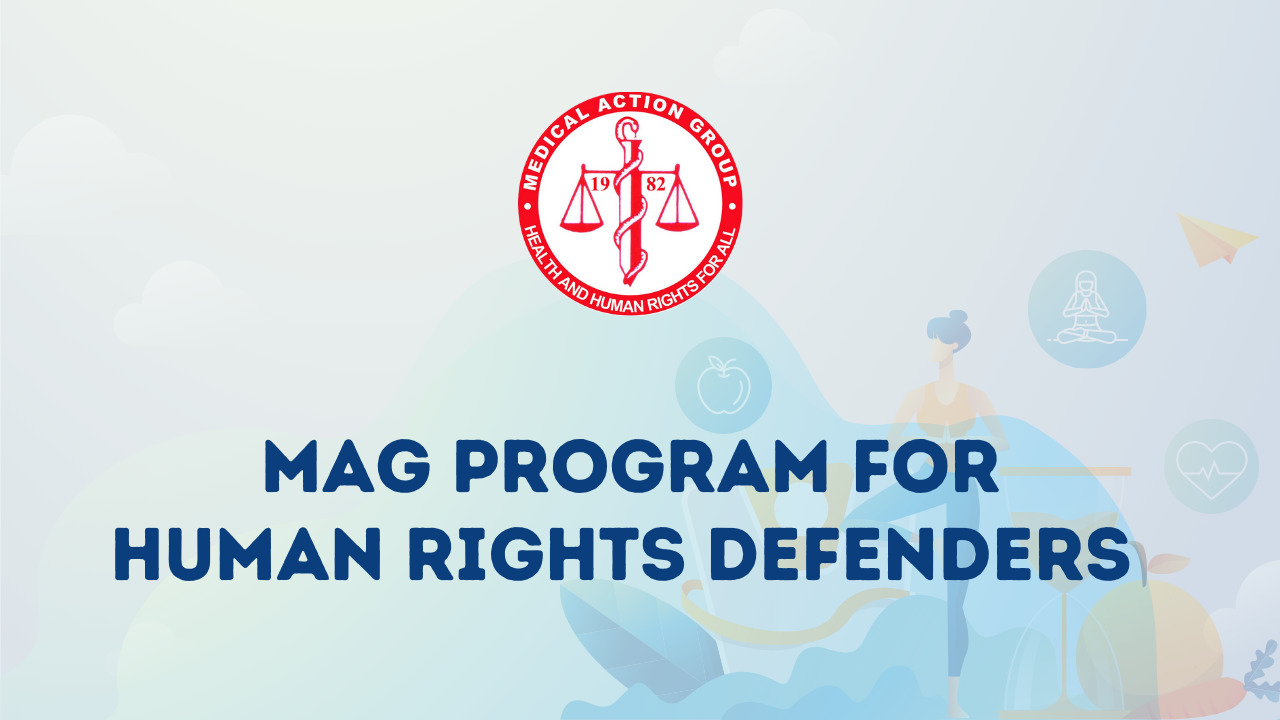 MAG Program for Human Rights Defenders