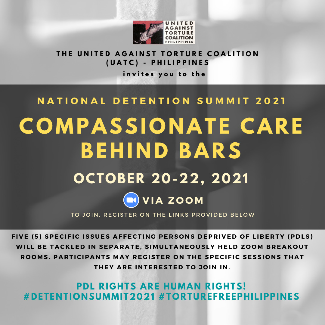 National Detention Summit 2021: Compassionate Care Behind Bars